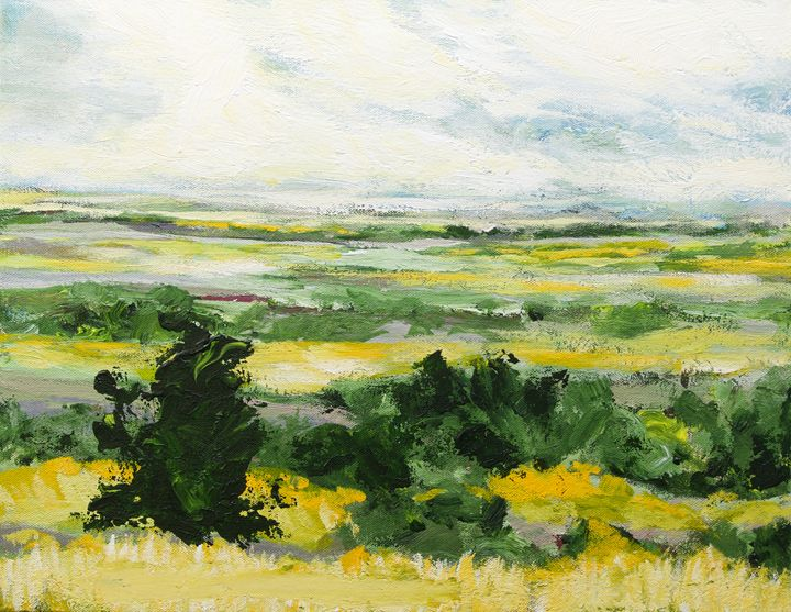 Petersfield - Allan Friedlander's  paintings