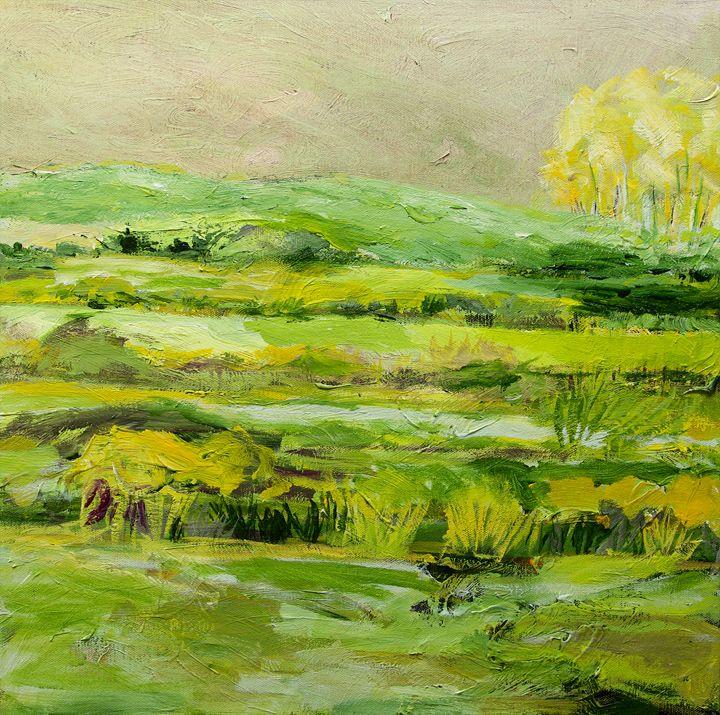 Upper Hayford - Allan Friedlander's  paintings