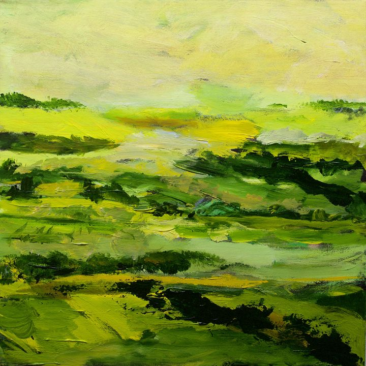 Chipping Norton - Allan Friedlander's  paintings