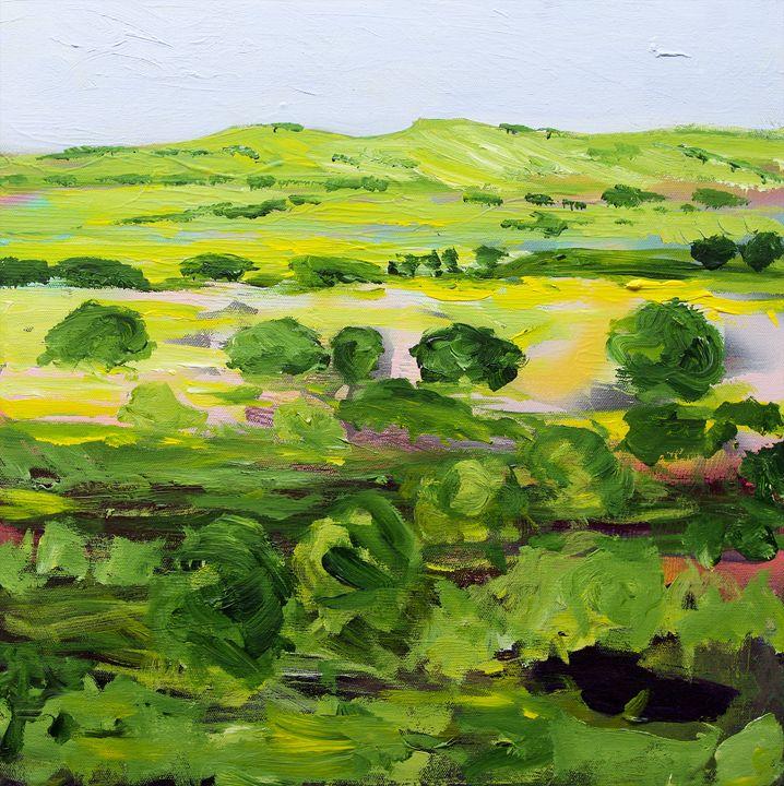 Wakefield - Allan Friedlander's  paintings