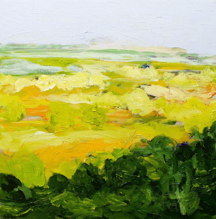Yorkshire - Allan Friedlander's  paintings