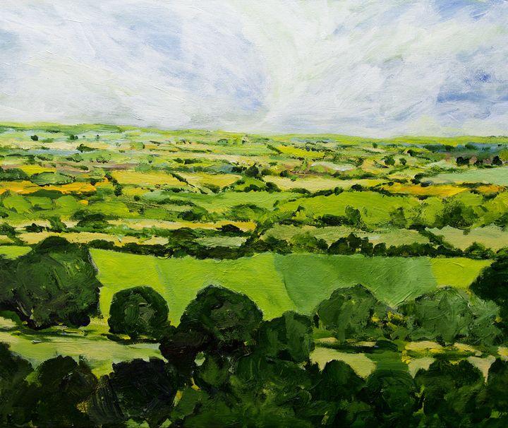 Kensworth - Allan Friedlander's  paintings