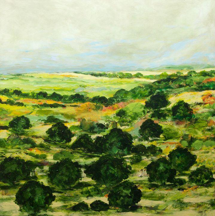 Broom Croft - Allan Friedlander's  paintings