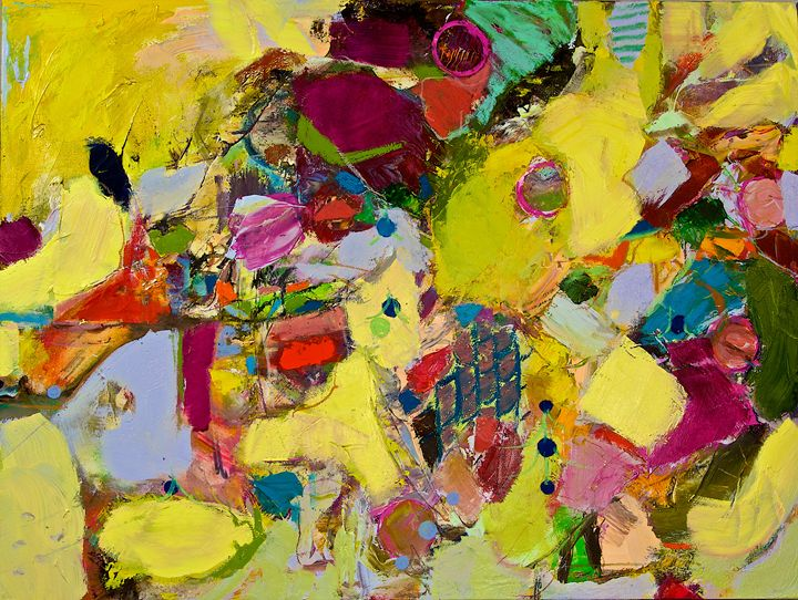 Bumble - Allan Friedlander's  paintings