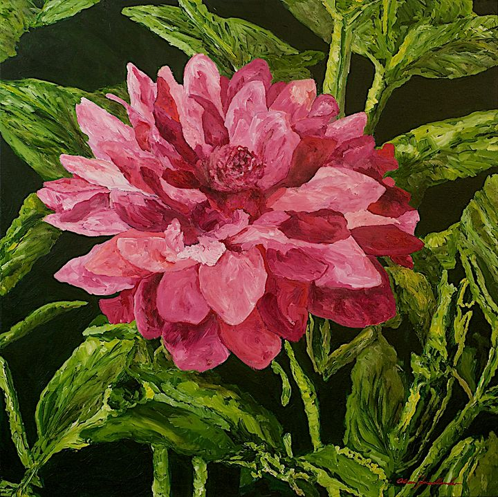 Bloom - Allan Friedlander's  paintings