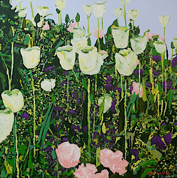 Tulip Deligh - Allan Friedlander's  paintings