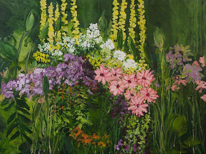 Flower Dance - Allan Friedlander's  paintings