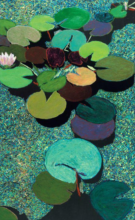 Valdosta Pond - Allan Friedlander's  paintings