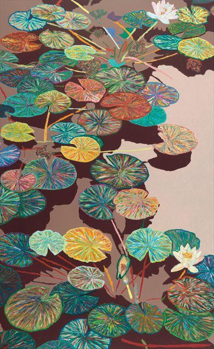 Crystal Morning - Allan Friedlander's  paintings
