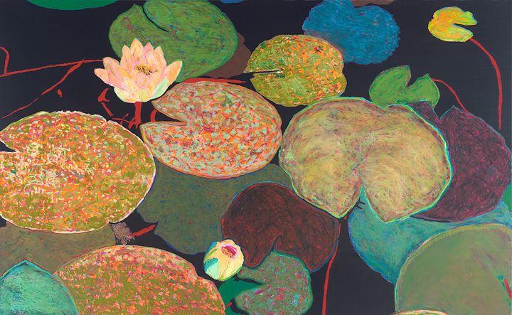 Early Mist - Allan Friedlander's  paintings
