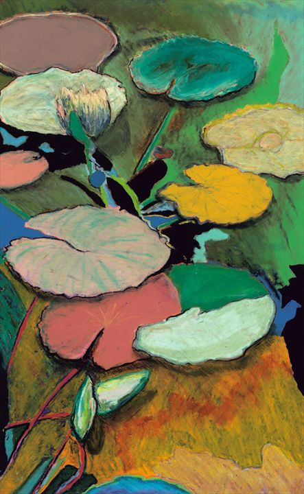 Windchime Spring - Allan Friedlander's  paintings