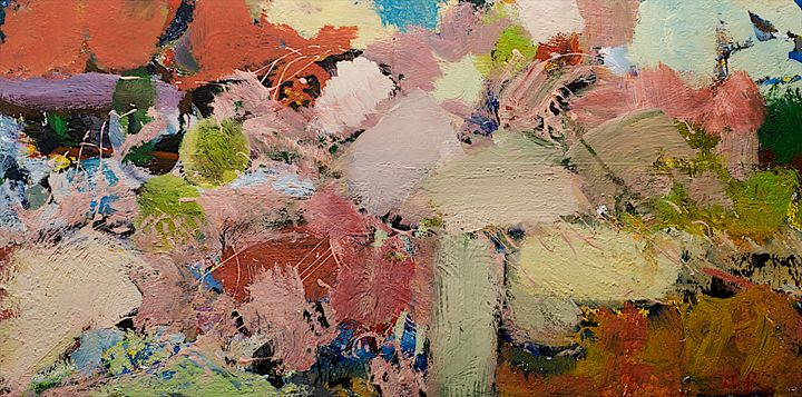 Azaleas - Allan Friedlander's  paintings