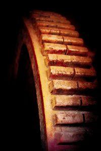 Mill Wheel in Rust