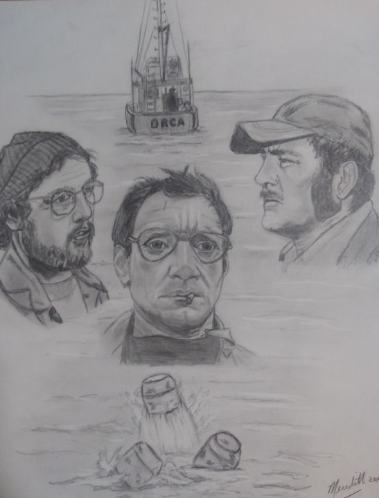 Jaws- Gonna need a bigger boat! - MWM artworks