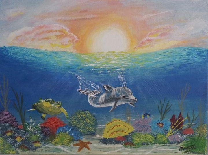 Underwater colors - MWM artworks