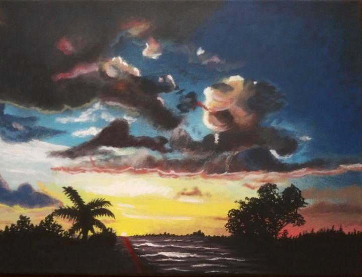 Inlet sunset - MWM artworks