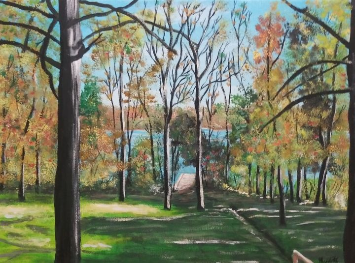 At the lake house - MWM artworks