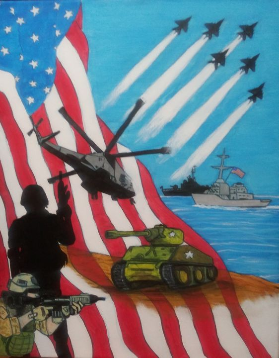 Thank You For Your Service - MWM artworks