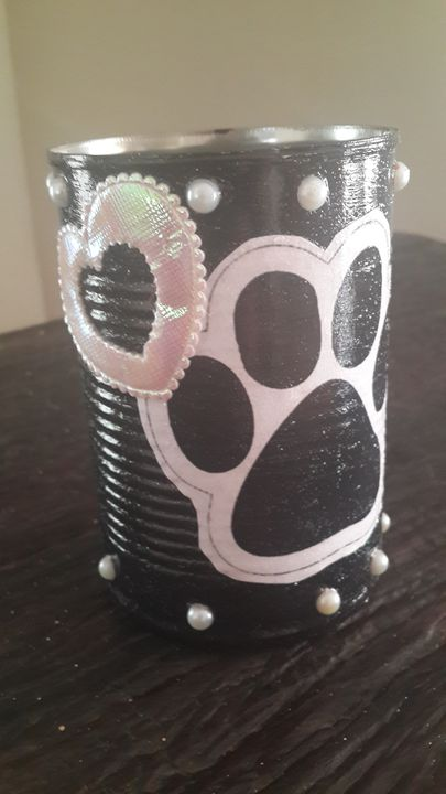 Animal Lovers Gift Tin - Upcycled Art & Crafts