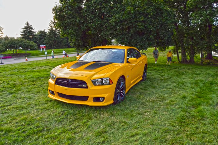 Dodge Charger SRT Super Bee - Boomerob photography