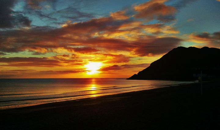 Bray Head Sunrise - Pictures of Ireland