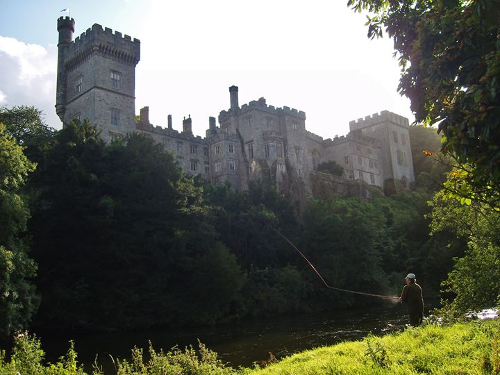 Casting off, Lismore Castle - Pictures of Ireland