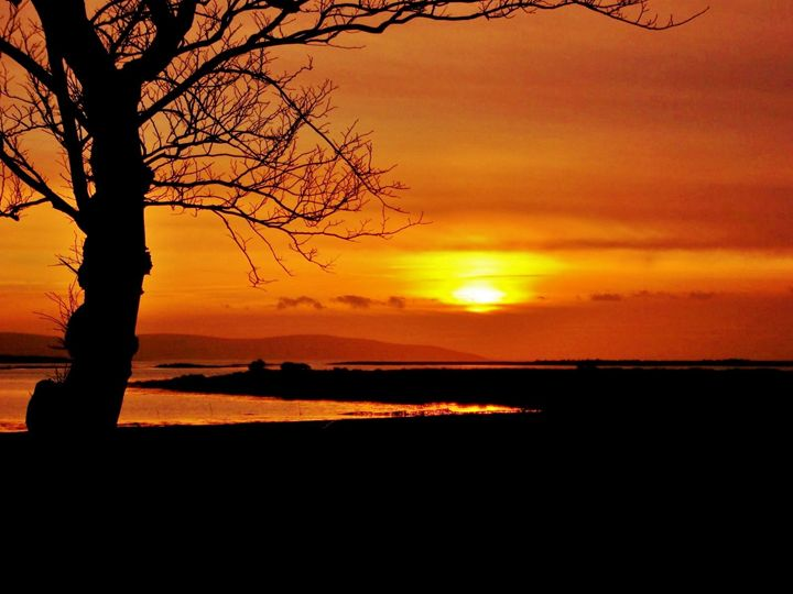 Sunset Galway Bay - Pictures of Ireland