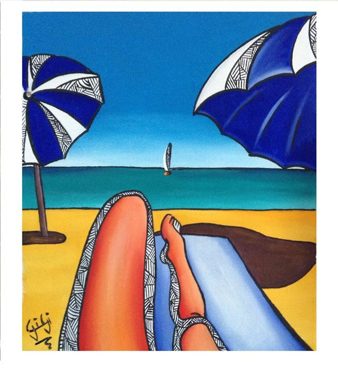 On the beach - GigiArtWork