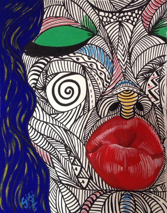 Selfie of Kiss - Gi_laPorta Artist