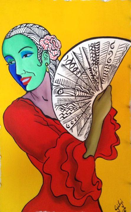 Spanish Dancer - Gi_laPorta Artist