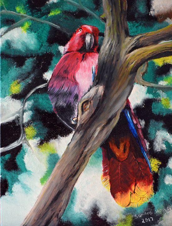 Parrot in Paradise - Sandra Hagan