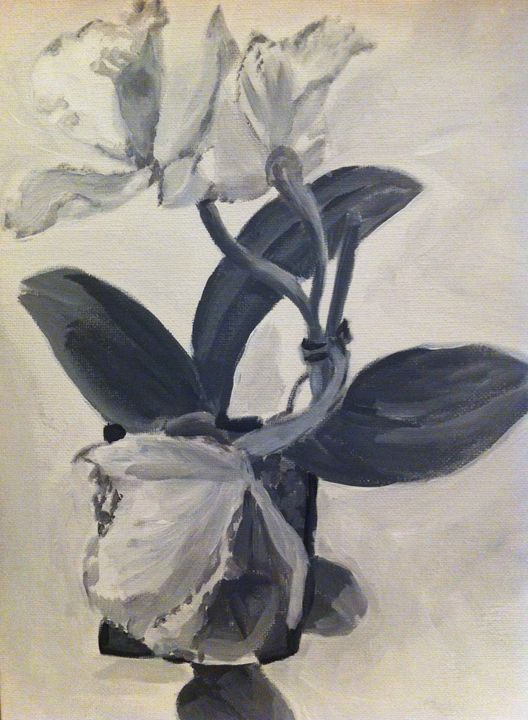 Psycho Bride Orchid #1 - The Big Easel