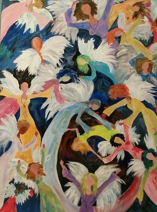 Angels Surrounds Us #7 - Artistic Designs