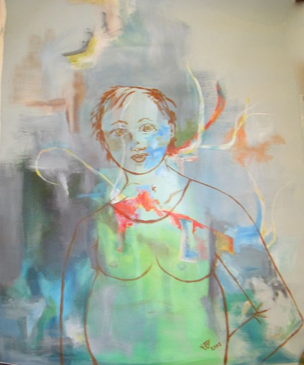 Pregnant girl - Artistic Designs