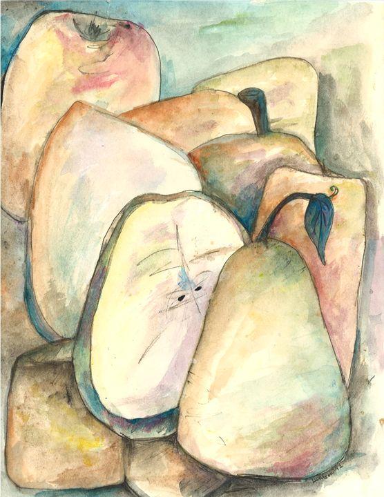 watercolour pears - Artistic Designs