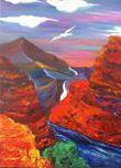 Falcon Canyons - Jo's Art Gallery