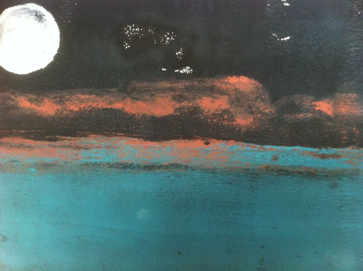 Salema Night - Jo's Art Gallery