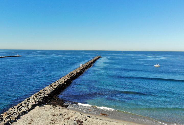 Mission Beach Jetty - Nick Melesko Photography