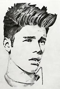 Potrait of Justin Bieber