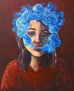 Self-portrait - Smoke