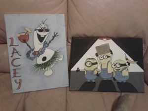 MINIONS AND FROZEN SNOWMAN