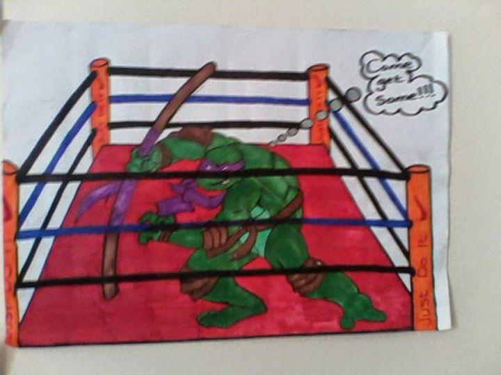 teenage mutant ninja turtle - j.j's fresos and alfresos