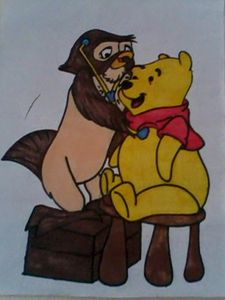 WINNIE THE POOH AND OWL