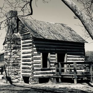 Cabin 2 (B&W) - J&W Photos