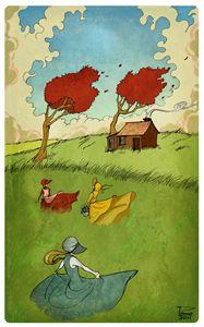 Three On the Prairie
