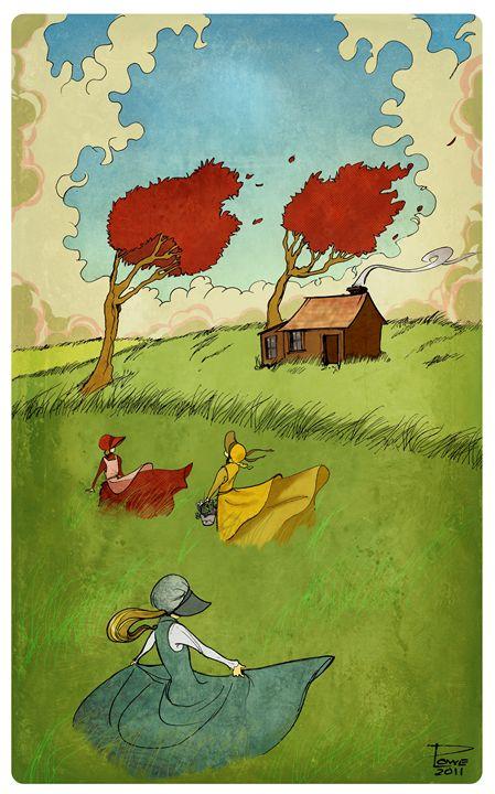 Three On the Prairie - Phillip Lowe