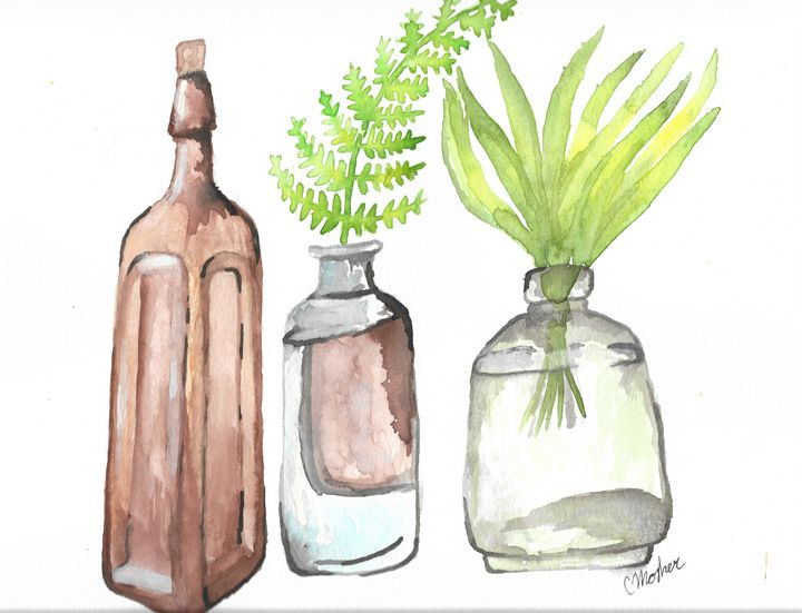 Bottles - Chelsey Mosher Art