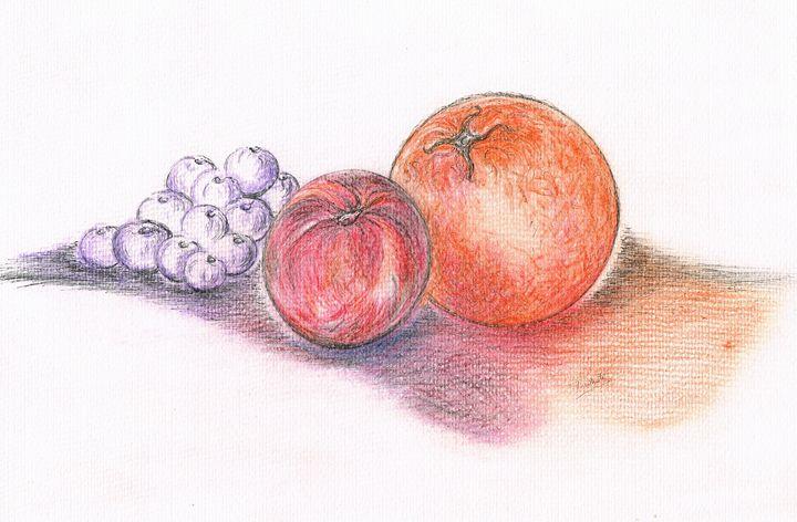 Juicy Fruits - Teresa white Delightful Art