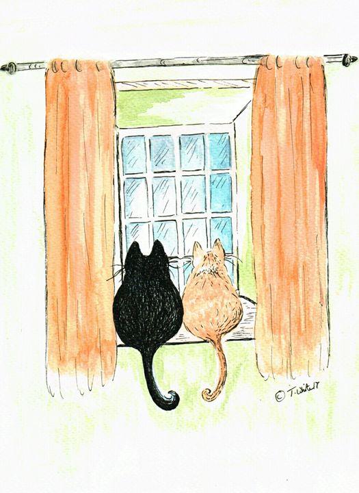 Best Friends - Teresa white Delightful Art