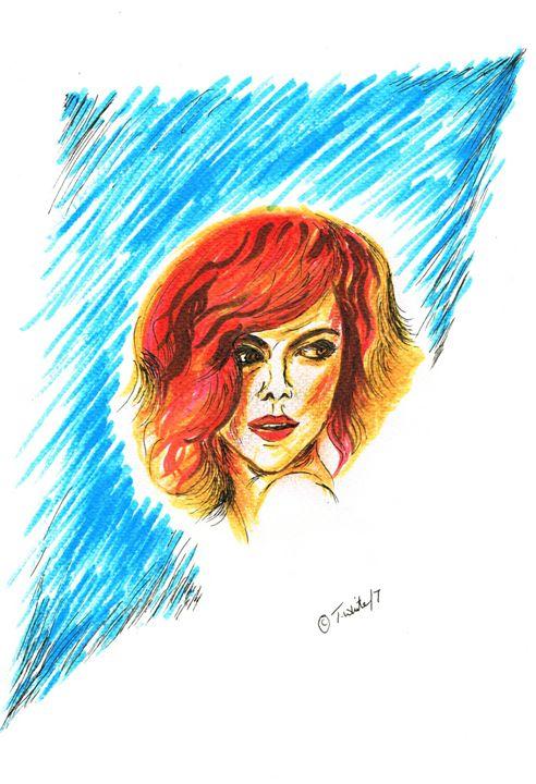 Electra - Teresa white Delightful Art